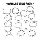 Speech bubble collection Stock Photo