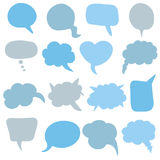 Speech bubble collection Stock Photo