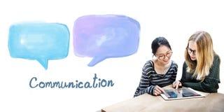 Speech Bubble Communication Conversation Technology Concept Stock Images