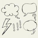 Speech bubble element stock illustration
