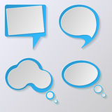 Speech bubble icon. Royalty Free Stock Photos