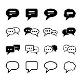 Speech Bubble Icon Royalty Free Stock Photo