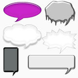 Speech bubble isolated Royalty Free Stock Photo