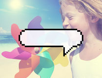 Speech Bubble Message Annouce Communicate Chat Concept Royalty Free Stock Image