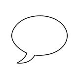Speech bubble message isolated icon. Vector illustration design vector illustration