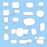 Speech Bubble Set 1 Royalty Free Stock Photo
