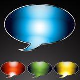 Speech Bubble Set royalty free illustration