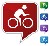 Speech Bubble Set - Bike Stock Images