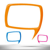 Speech Bubble 003 Stock Image