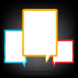 Speech Bubble 001 Royalty Free Stock Image