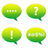 Speech Bubble Set EPS Stock Photo