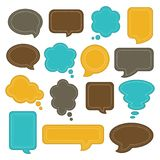 Speech bubble set. Royalty Free Stock Images