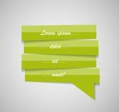 Speech Bubble Template Vector Illustration Stock Photo