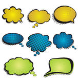 Speech bubble Stock Photos