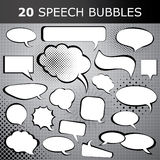 Speech Bubble Vectors Royalty Free Stock Images