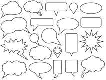 Speech bubbles Stock Photo