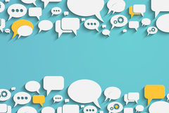 Speech Bubbles And Dialog Balloons Stock Photography