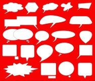 Speech bubbles Stock Images