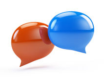 Speech Bubbles, Chat Icon Royalty Free Stock Images