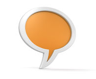 Speech bubbles (clipping path included) Royalty Free Stock Photography