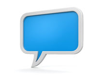 Speech bubbles (clipping path included) Royalty Free Stock Photos