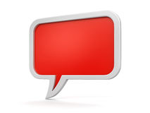Speech bubbles (clipping path included) Royalty Free Stock Image