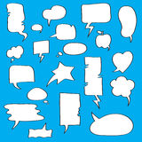 Speech bubbles Collection Stock Image