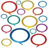 Speech Bubbles. Royalty Free Stock Photo