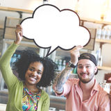 Speech Bubbles Communication Message Connect Concept Royalty Free Stock Image