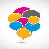 Speech Bubbles Concept Royalty Free Stock Image