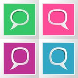 Speech bubbles Royalty Free Stock Image