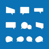 Speech bubbles icon Royalty Free Stock Images