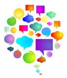 Speech bubbles Royalty Free Stock Photo