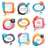 Speech bubbles illustration Stock Photo