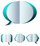 Speech bubbles royalty free illustration