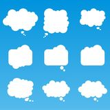 Speech Bubbles and Thinking Balloons Pack Vector Stock Photos