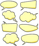 Speech bubbles. Vector Stock Images