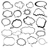 Speech Bubbles. Vector illustration of speech bubbles vector illustration