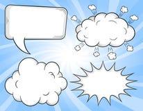 Speech bubbles Royalty Free Stock Photos