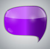 Speech bubbles vector illustration Royalty Free Stock Images