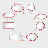 Speech bubbles vector Stock Photos