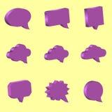 Speech bubbles Stock Image