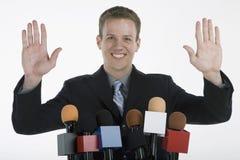 Speech commencment Stock Photography