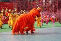 Speech by the dance ensemble Stock Image