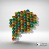 Speech icon. Design element. 3d vector Stock Photo