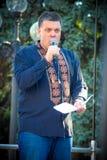 The speech of Oleg Tyahnybok Royalty Free Stock Images
