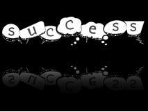 Speech success bubbles Royalty Free Stock Photo