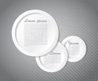Speech text bubbles illustration design Royalty Free Stock Image