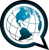 Speech world Stock Images