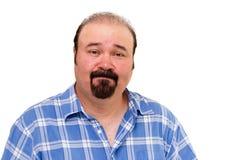 Free Speechless Middle-aged Man, Portrait On White Stock Photo - 33352370